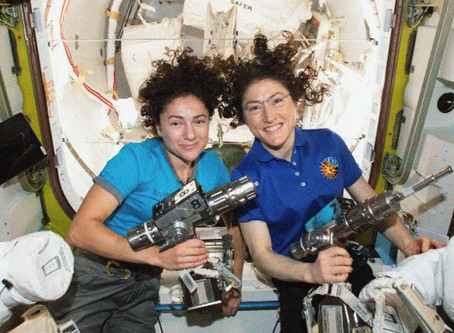 NASA's all-female spacewalk makes history: 'One giant leap for WOMANkind!'
