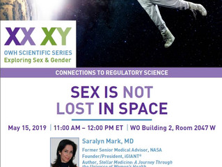 Sex is Not Lost in Space