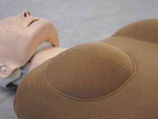 Women are less likely than men to receive CPR in public. A new product is designed to change that.
