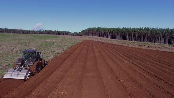 Preparação de soloagricultura