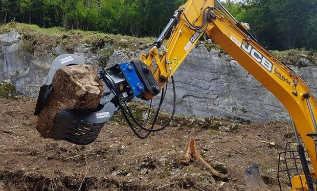 Garra p/ Material de demolição
