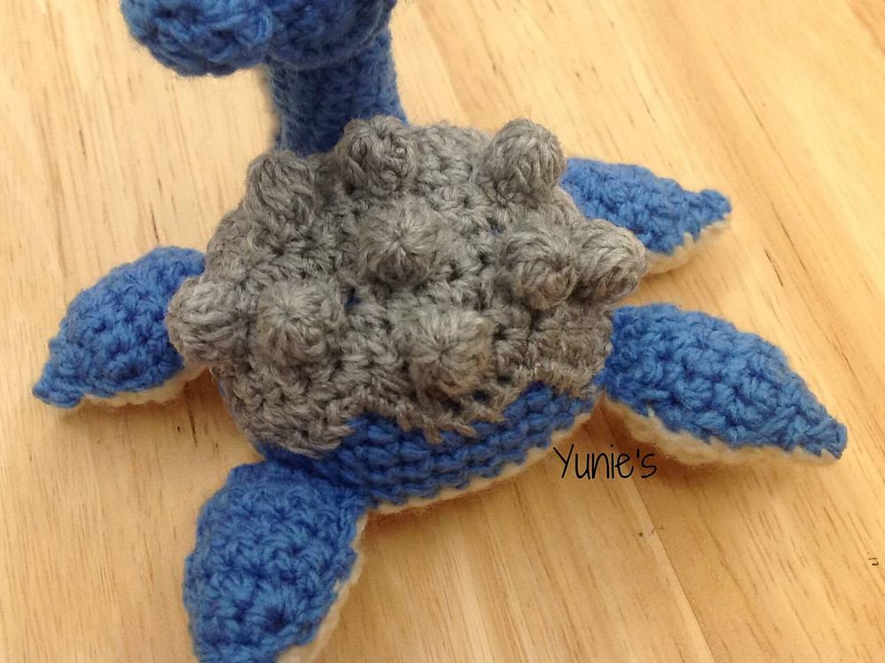 free lapras crochet pattern
