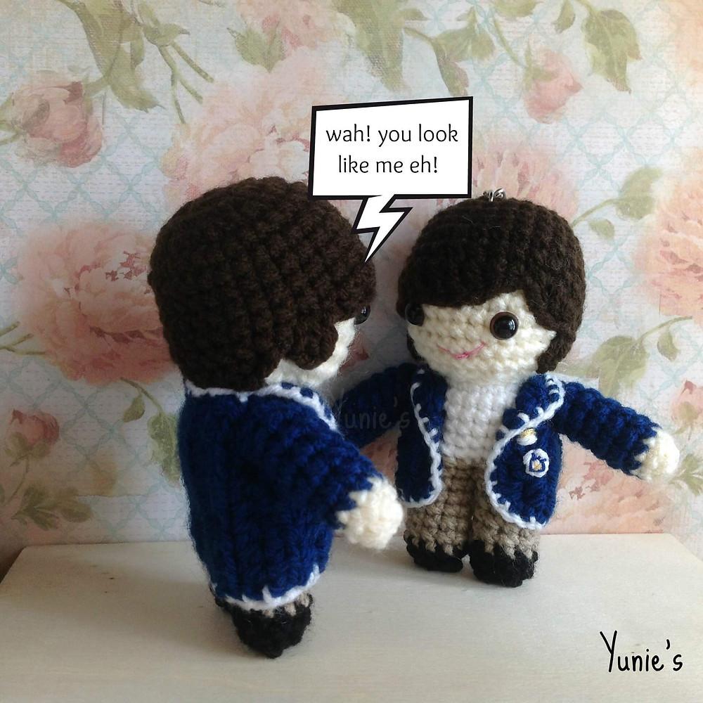lee min ho crochet dolls