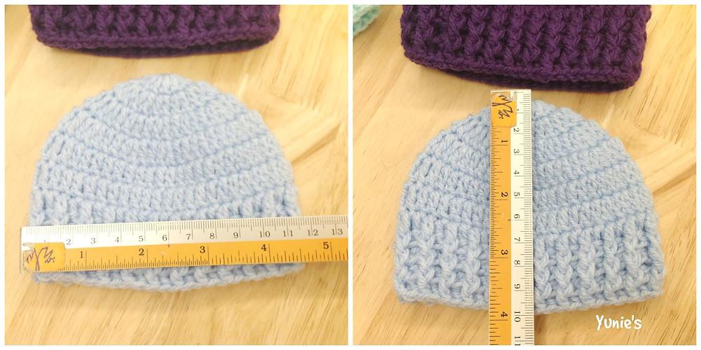 Free crochet pattern : Beanies for Preemies