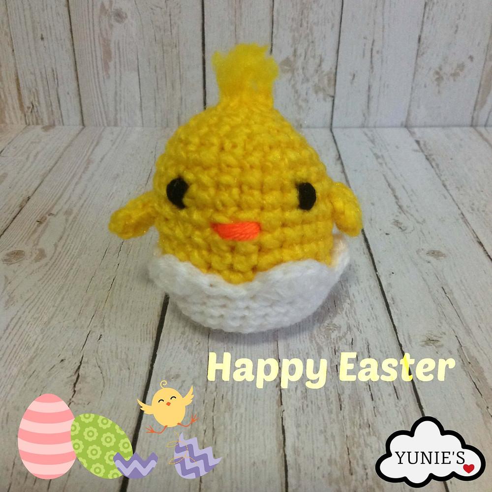 Free chick crochet pattern