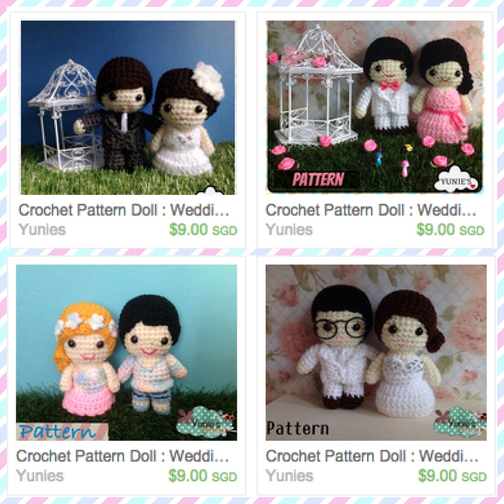 Valentines day promotion yunies crochet