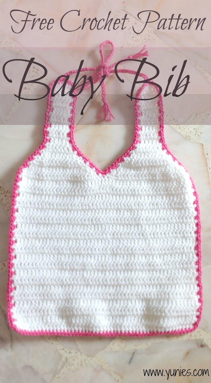 Free Crochet Pattern Baby Bib Free Crochet Pattern Singapore