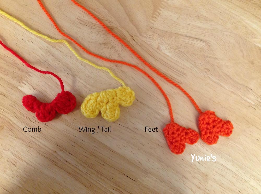 Free chicken crochet pattern