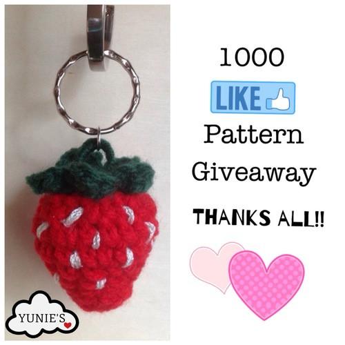 Strawberry Free Crochet Pattern Yunies