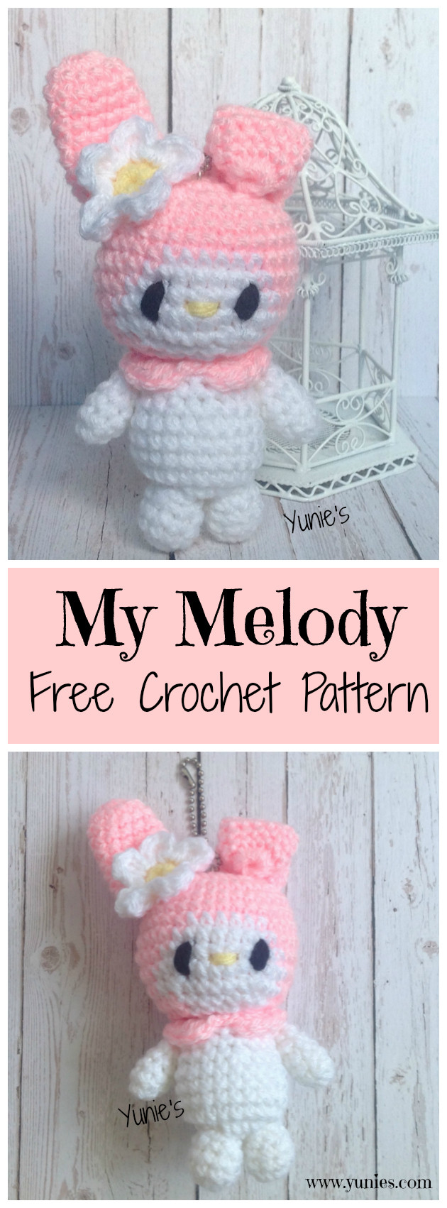My Melody Fee Crochet Pattern