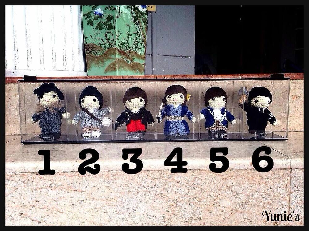 Lee Min Ho dolls