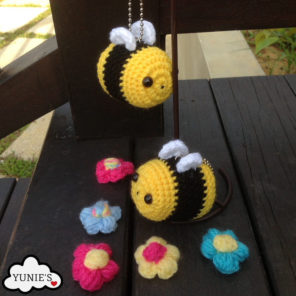 Bumble bee free pattern