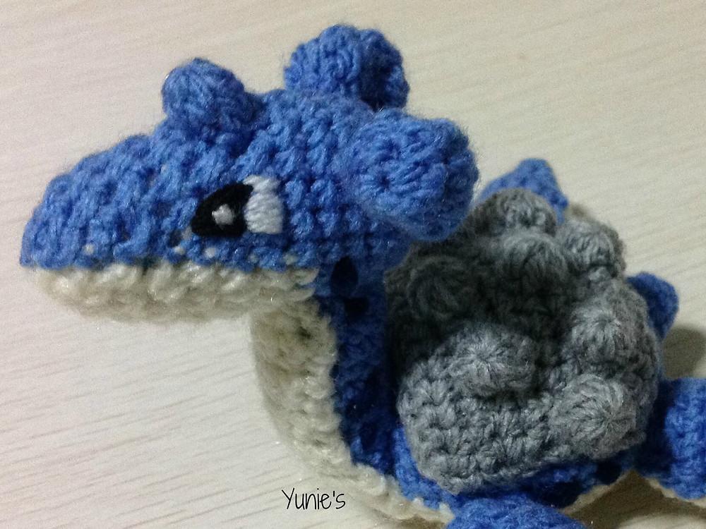 Lapras crochet pattern