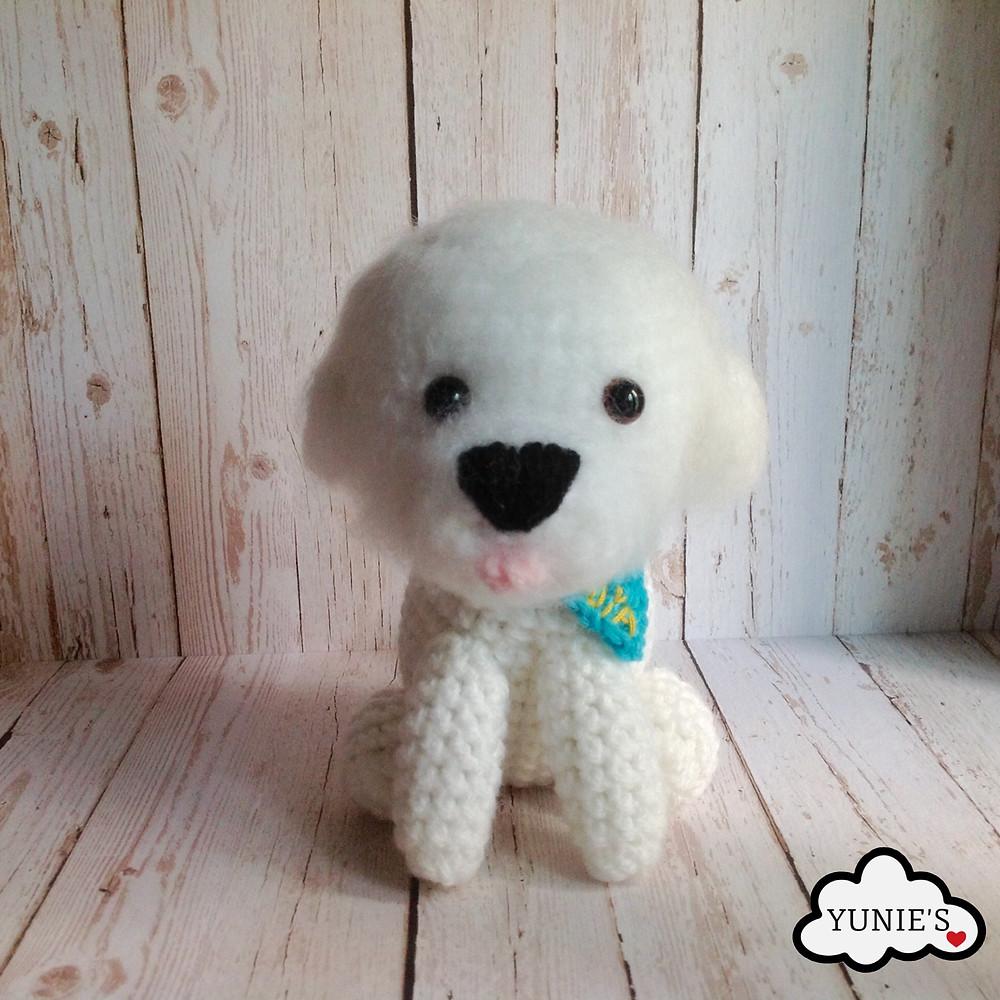 Crochet amigurumi Dog Choya