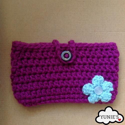 Cellphone cosy free Crochet Pattern