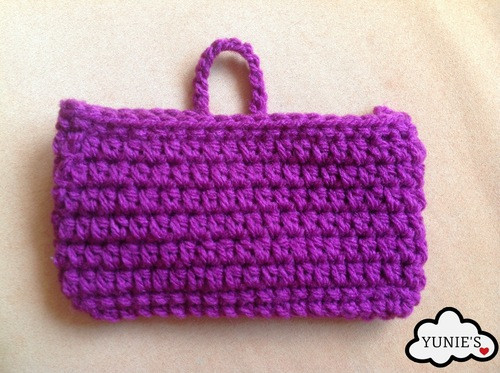 iphone pouch free crochet pattern