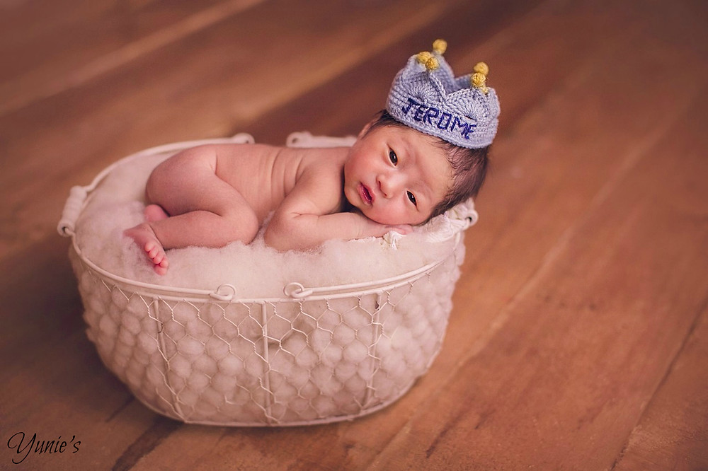 Prince Jerome Newborn shoot