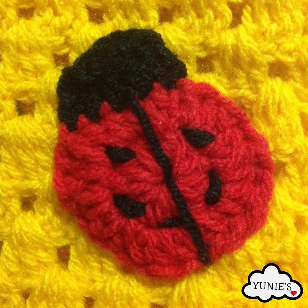 Ladybird crochet pattern