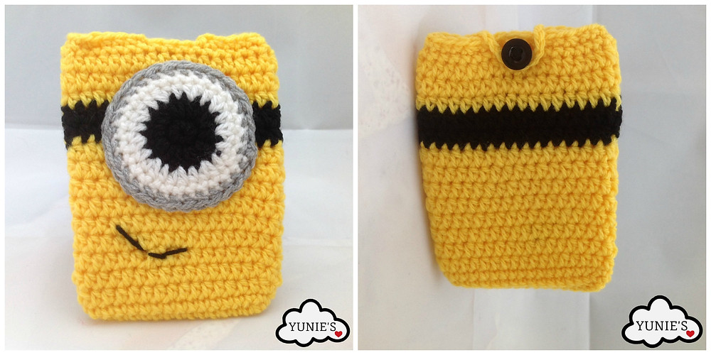 Yunies Crochet Minion purse