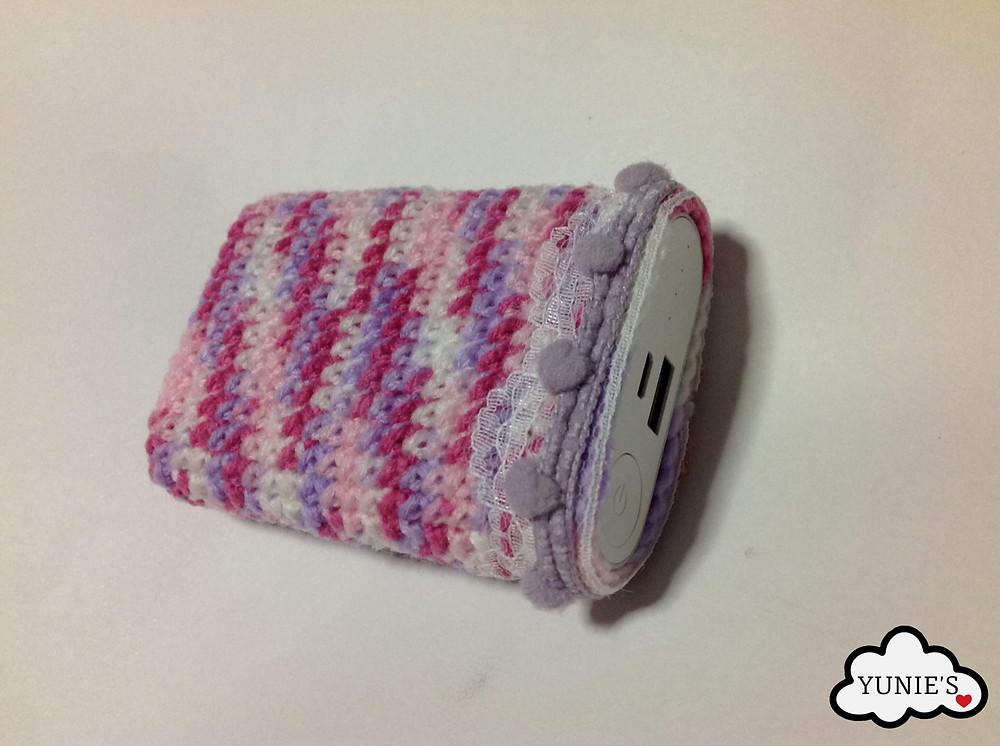 Powerbank Cosy Free Crochet Pattern