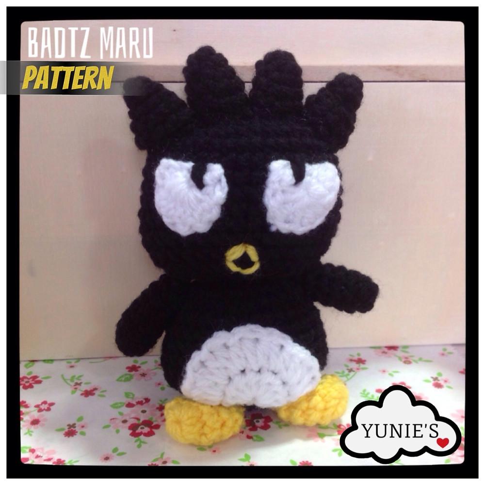 Badtz Maru Free Crochet Pattern