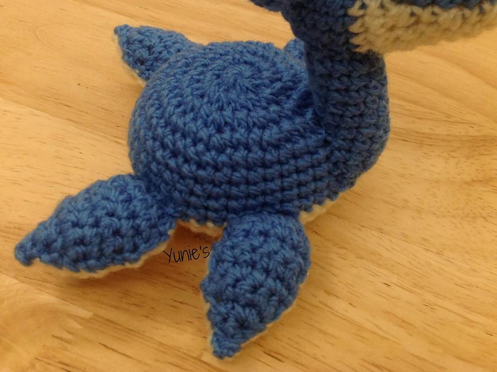 Lapras Free crochet Pattern