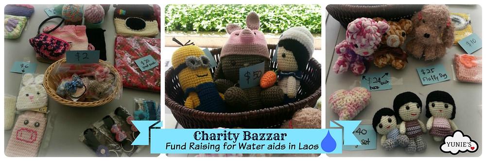 Yunies Crochet Amigurumi Charity bazzar
