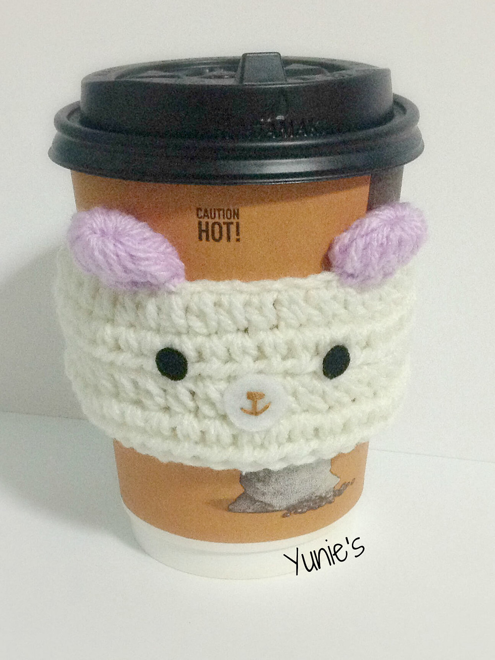 Free bear cozy crochet pattern