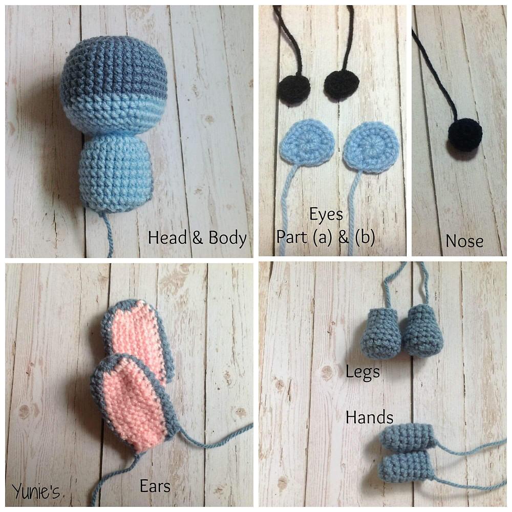 lilo stitch crochet pattern