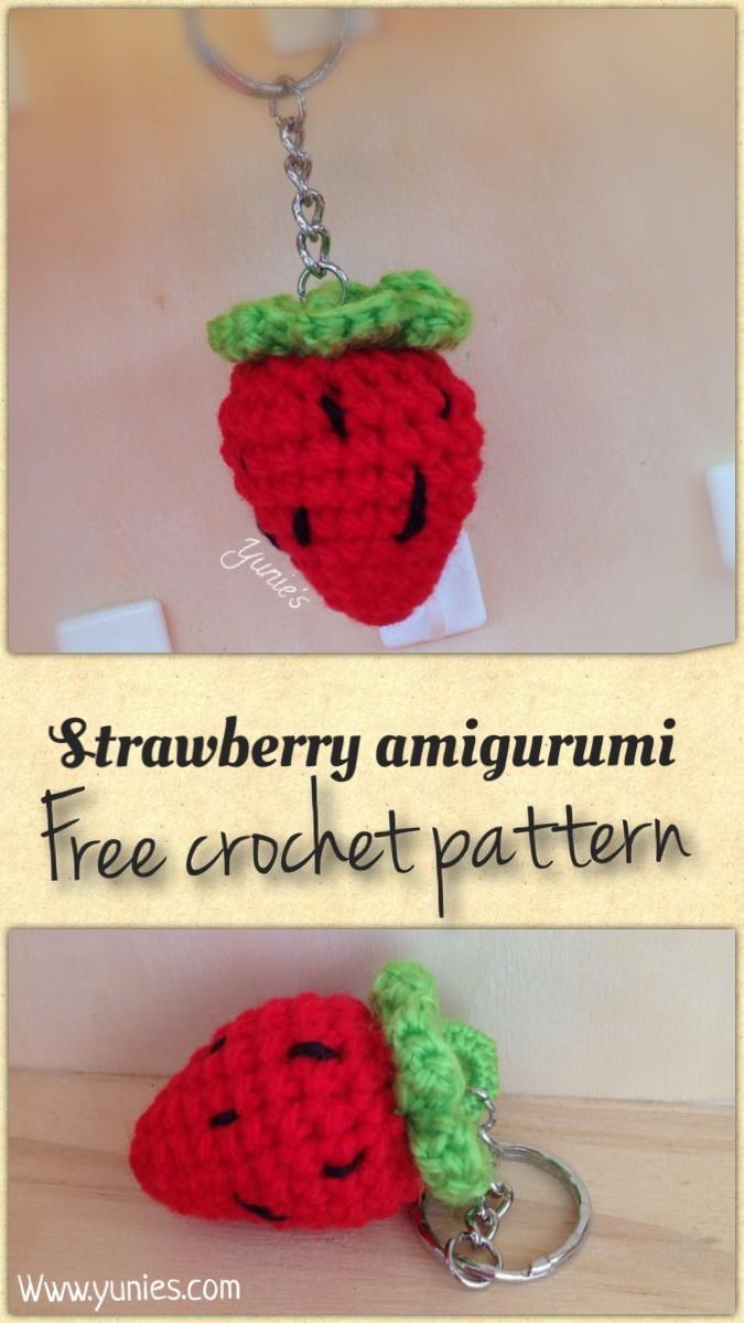 Free crochet pattern strawberry