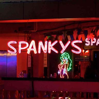 别睡觉,一起来嗨,曼谷娜娜广场 Spanky's agogo