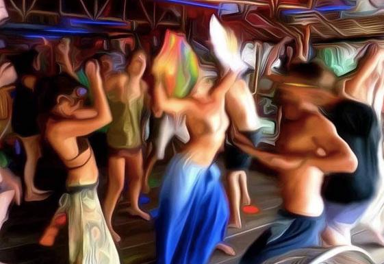 超乎想象的疯狂,泰国帕岸岛满月派对full moon party
