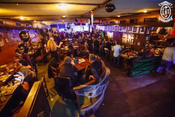 夜生活基辅码头的酒吧 #039