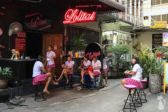 曼谷的口交吧的列表