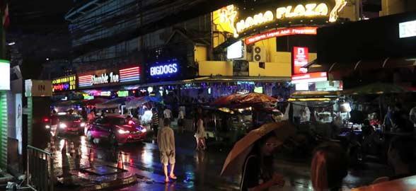 Sukhumvit路在曼谷泰国