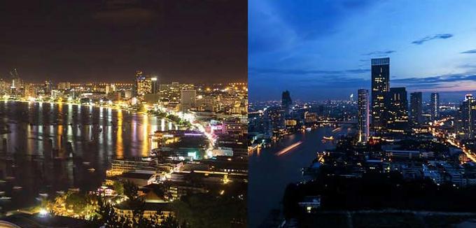 曼谷与芭堤雅 – 夜生活,泰妹,酒店详细比较