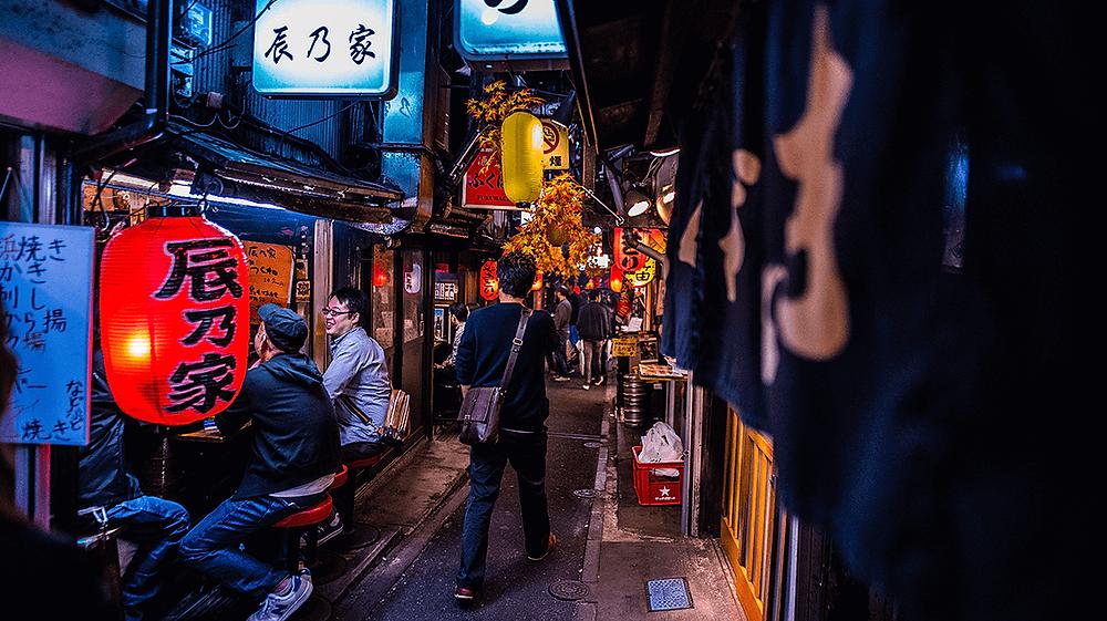 Omoide Yokocho,新宿,东京,日本