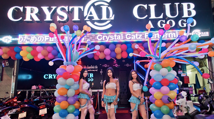 芭提雅Crystal Club Agogo