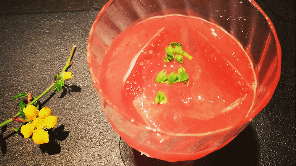 日本东京Gen Yamamoto的季节性鸡尾酒