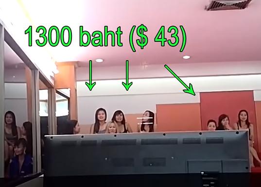 Biwa cafe,曼谷市区最便宜的泰浴:1000泰铢
