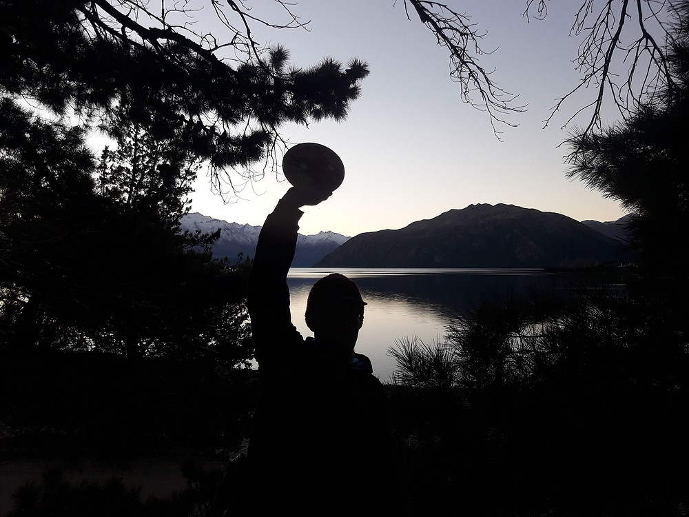 Eely Point DGC at dusk, Wanaka.