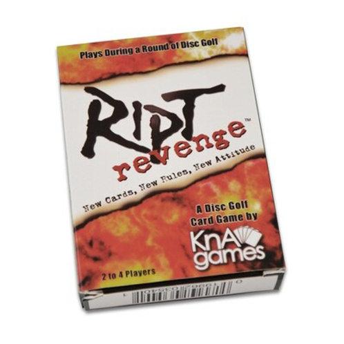 Ript Revenge Disc Golf Card Game