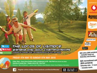 2018 Wanaka Open Disc Golf Tournament, 4-6 May
