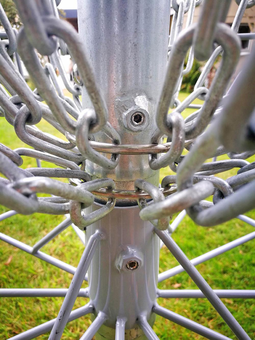 DiscMate's stainless grub screws