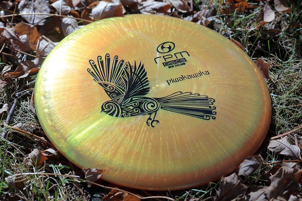Metallic bronze Piwakawaka: stunning!