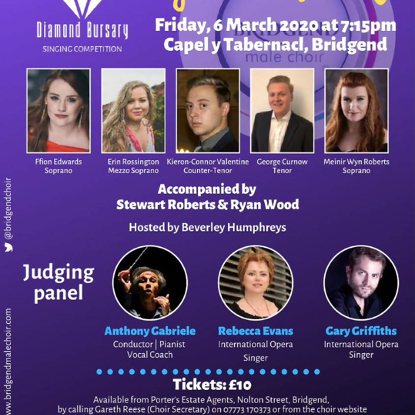 Diamond Bursary Singing Competition Live Final (A final not to be missed)