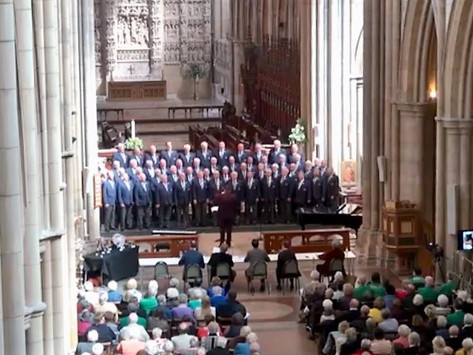 Cornish International Male Choral Festival Review