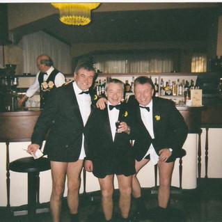 Brian Lewis, Arwyn Hughes and Bryn Willi