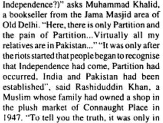 Delhi in August & September of 1947