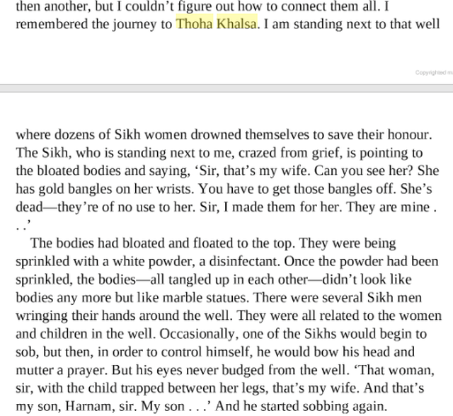 From Bisham Sahni's memoir